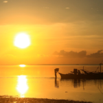 Sunrise on Siargao island-philippines