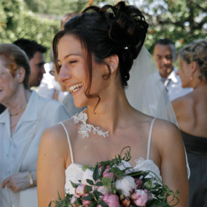 photographie mariage mariee bouquet