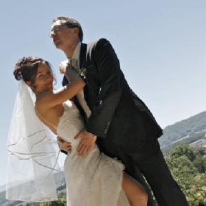 photographie mariage nature maries pose