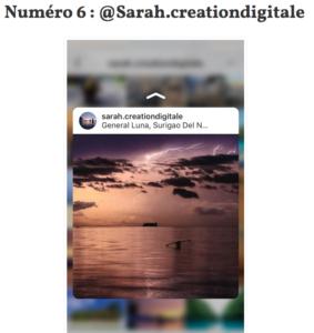 instagram sarah mallier creation digitale