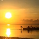 Sunrise on Siargao island-philippines